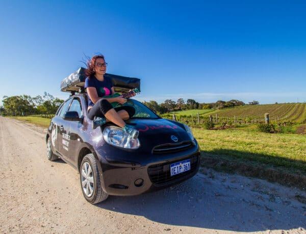 Cestopis Austrálie - Cesta do Barossa Valley