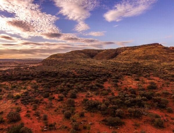 Cestopis Austrálie - Kings Canyon