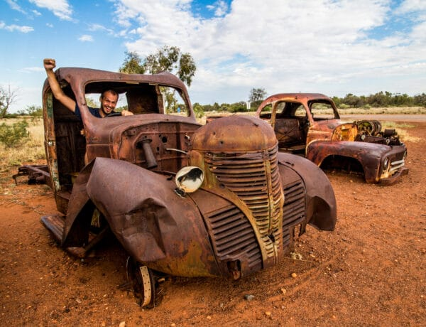 Cestopis Austrálie - Mataranka a Devils Marbles
