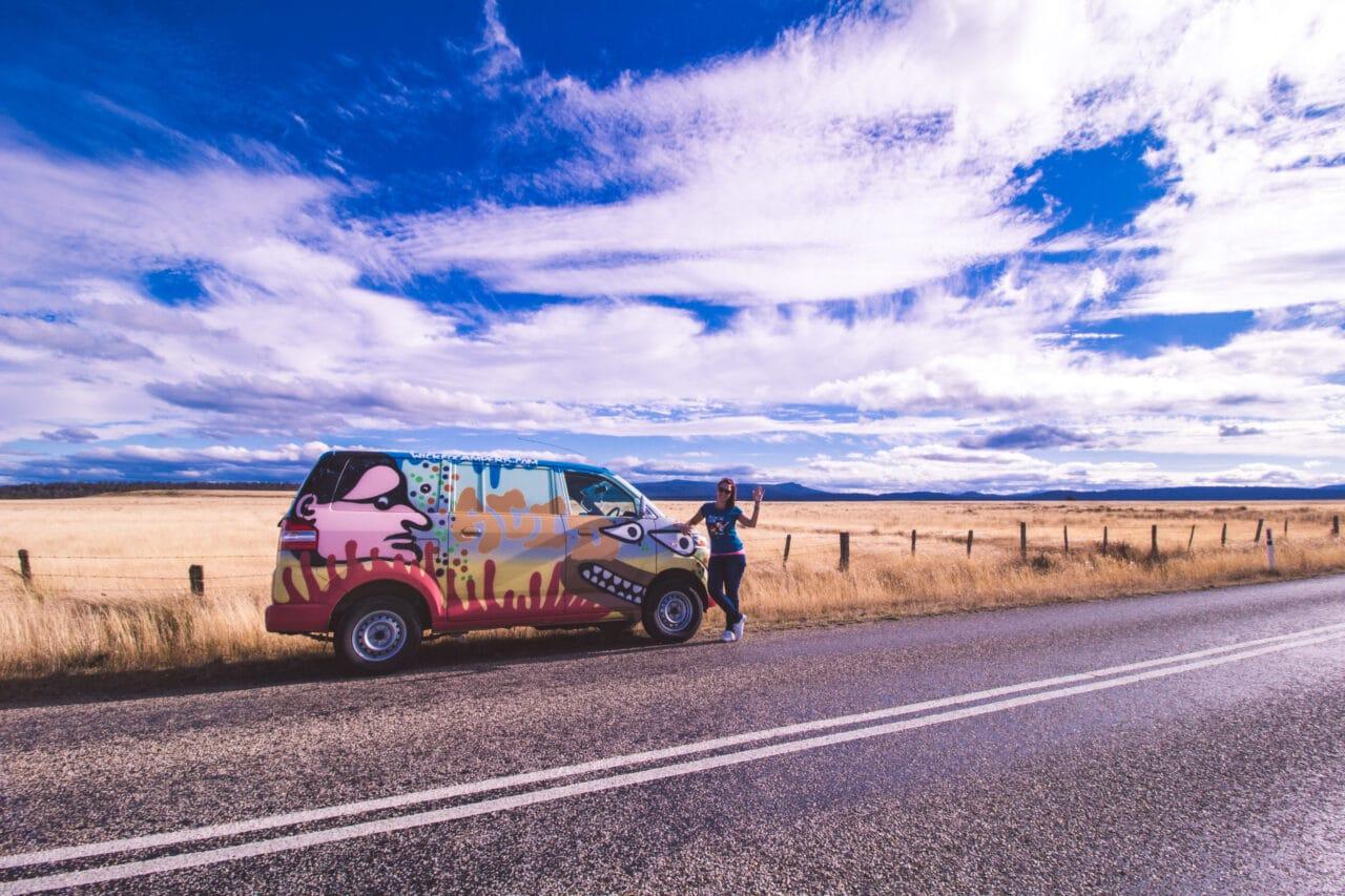 Cestopis Tasmánie - Vyrážíme