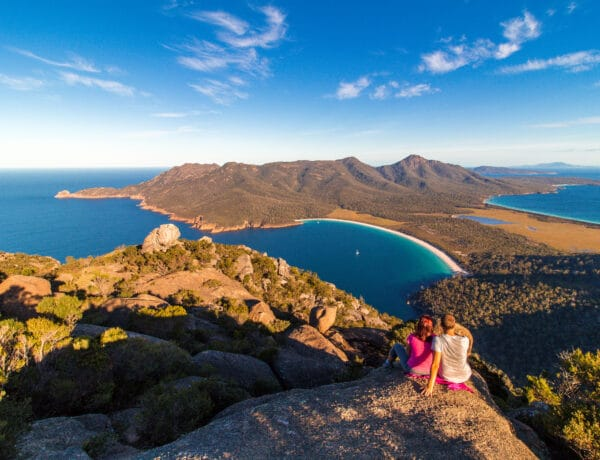 Cestopis Tasmánie - Wineglass Bay