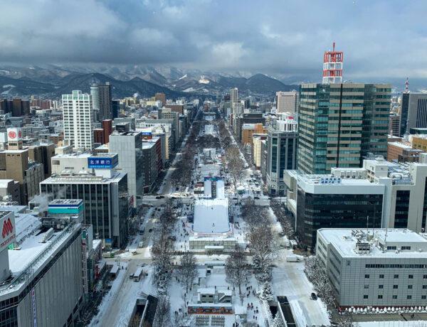 Cestopis Japonsko - Sapporo